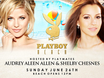 Playboy Beach with Playmates Audrey Aleen Allen & Shelby Chesnes