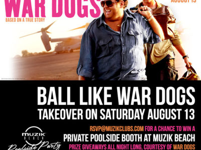 Ball Like War Dogs on Sat Night, Aug 13, 2016